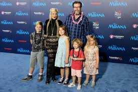 tori spelling brings family to moana premiere people com