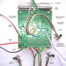 7 1 home theater circuit diagram 100w diy stereo audio amplifier circuit kit board bass treble 4440