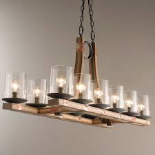 Wooden Chandeliers Wooden Chandelier Wood Candle Closdurocnoir