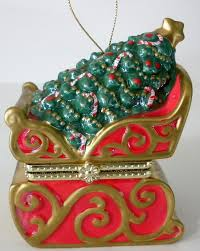 mr wind up musical animated sleigh ornament