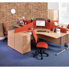 Deep Office Desk Deluxe 3 Drawer 600mmm Deep Desk High Office Storage Filing Pedestal