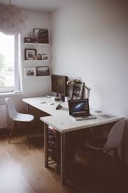 two person desk elegant photo bust of rousing and smart home