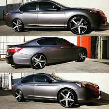 2013 honda accord with 20 inch rims wheels and tires vipexoticwheels instagram photos and
