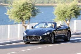 2017 maserati granturismo matte black 2018 maserati granturismo coupe convertible first drive review