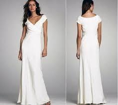 download white casual wedding dress wedding corners