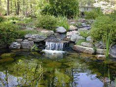 Backyard Pond Ideas With Waterfall Agoodthinghappened Koukoen Waterfall By Risachantag Deviantart