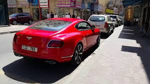 bentley pakistan red bentley in dubai 24 03 2016 youtube