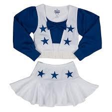 Cheerleading Halloween Costumes Kids Dallas Cowboys Size 10 14 Dcc Cheer Uniform Girls Kids
