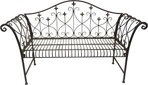 Sheffield Home Decor by Outdoor Metal Bench Home Improvement Design And Decoration