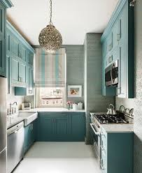 Blue And White Kitchen Turquoise Kitchen Cabinets Transitional With Blue And White