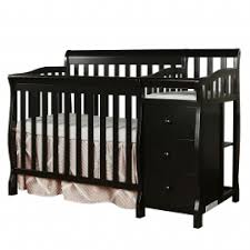 Crib And Changing Table Casco 3 In 1 Mini Crib And Dressing Table Combo Dream On Me