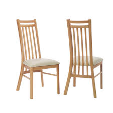 oak dining chairs with cream leather seats mark harris monte