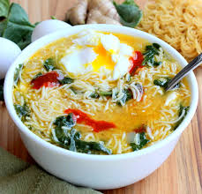 thanksgiving egg noodles spinach ramen noodle soup with poached egg how to feed a loon