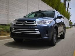 Toyota Highlander Interior Dimensions 2017 Toyota Highlander Kelley Blue Book