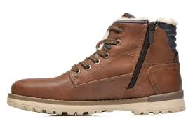 mustang shoes mustang shoes legsar brown ankle boots chez sarenza 230133
