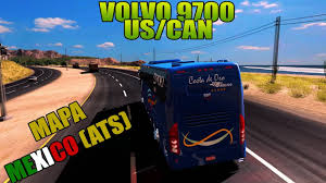 volvo trucks california mapa mexico american truck volvo 9700 uscan la paz baja