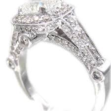 gold cushion cut engagement rings 14k white gold cushion cut diamond engagement ring deco style