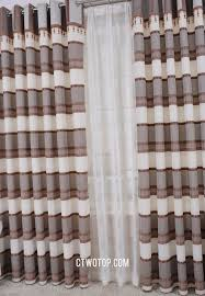 overstock clearance custom made beige and gray curtains
