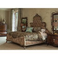 Michael Amini Bedroom by Michael Amini Platine De Royale Upholstered Platform Bed Wayfair