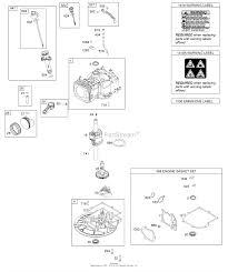 Briggs And Stratton 08p502 0055 F1 Parts Diagrams