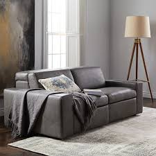 west elm reclining sofa enzo leather reclining sofa 76 west elm