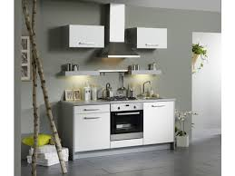 vente unique cuisine cuisine 5 meubles lodine blanc brillant