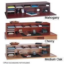 Wood Desk Accessories And Organizers Safco Low Profile Desk Top Organizer Overstock Shopping Top