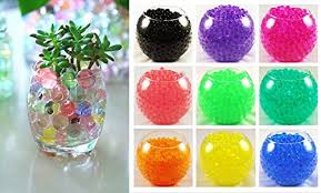 Water Beads Centerpieces Ten 10 Bags Of Magic Crystal Soil Water Beads 10 Colors
