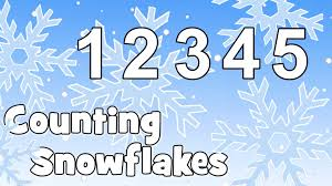 counting snowflakes christmas songs for kids youtube