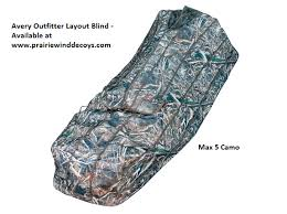 Avery Finisher Layout Blind Your Store Sale Outfitter Layout Blind Av01551 Max 5 Camo