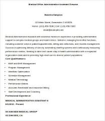 Resume Sample For Doctors by Resume Templates For Medical Assistant Cover Letter Medical