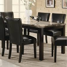 coaster furniture 102260 carter 36 w rectangular leg dining table