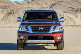 red nissan 2017 first pictures the 2017 nissan armada spices up a stale full size