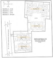 compound floor plans surya digha compound patna india residential apartments