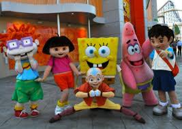 Chuckie Finster Halloween Costume Nickalive Nickelodeon Pleasure Beach Blackpool Invites