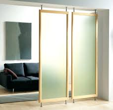 Curtain Room Divider Ideas Room Dividers Sliding Hanging Room Dividers Appealing Bookcase
