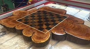building a cedar slab chess table chess forums chess com