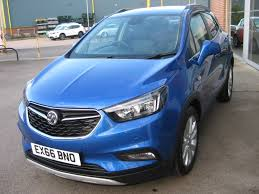 vauxhall blue used boracay blue metallic vauxhall mokka for sale lincolnshire