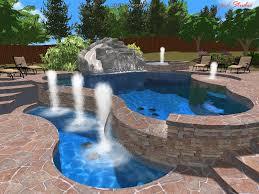 Backyard With Pool Landscaping Ideas by Backyard Pool Landscape Ideas Aviblock Com