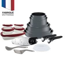 batterie de cuisine tefal induction tefal ingenio performance 20p induction gris batterie de cuisine