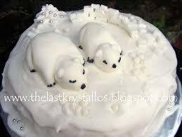 polar bear christmas cake inspired by kirsty allsopp christmas