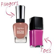 cute nail polish combos for your fingers and toes instyle com