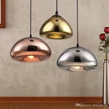 Shade Pendant Light Led Pendant Ls Copper Glass Shade Pendant Light Modern