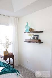 bedroom shelves diy floating shelves