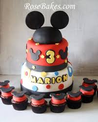 mickey mouse cake behance