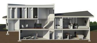 salukitecture rendering a section view in revit