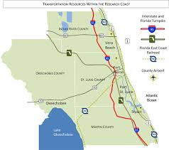 Map Of Port St Lucie Florida by Transportation St Lucie County Edc