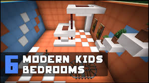 Minecraft Bedroom Furniture Real Life by Minecraft Modern Kids Bedroom Designs U0026 Ideas Youtube