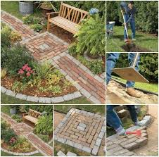 Backyard Walking Paths 20 Incredibly Creative Ways To Reuse Old Bricks Diy U0026 Crafts