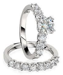 engagement rings set gottlieb sons engagement ring set prong set